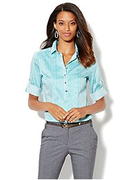 Madison Popover Shirt - Stripe