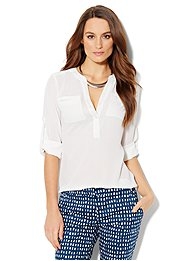 Mercer Soft Popover Shirt