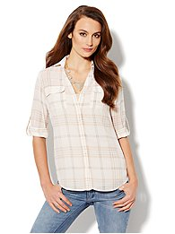 Mercer Soft Shirt - Plaid