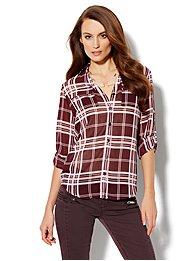 Mercer Soft Shirt - Plaid