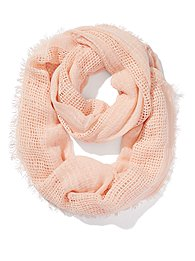 Open-Knit Infinity Scarf