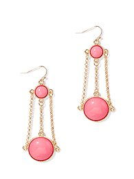 Pastel Chandelier-Drop Earring