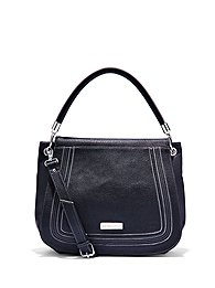 Pebbled Foldover Bag