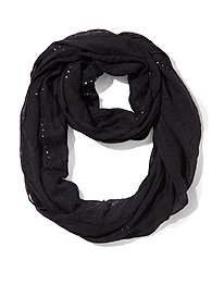 Sequin Infinity Scarf