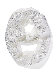 Sequin-Stripe Scarf