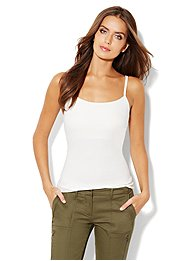 Shelf-Bra Camisole Shaper - Cotton