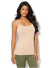 Shelf-Bra Camisole Shaper - Solid