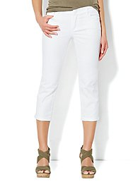 Skinny Crop Jean - Optic White