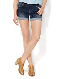 Soho Jeans - 4'' Short - Theatrical Blue Wash