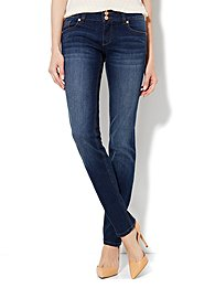 Soho Jeans - Curve Creator Skinny - Theatrical Blue Wash - Average