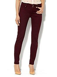 Soho Jeans High-Waist Legging - True Burgundy
