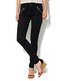 Soho Jeans High-Waist Legging - Zip Pocket