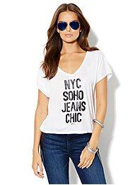 Soho Jeans Logo Tee