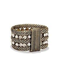 Sparkle Chain Mesh Bracelet