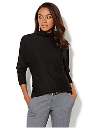 Turtleneck Dolman Sweater