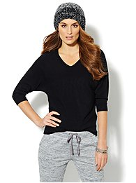 Waverly V-Neck Dolman Sweater