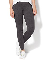 Yoga Legging - Graphite Heather Grey