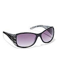 animal printed sunglasses