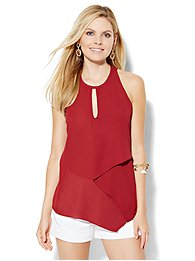 asymmetrical-halter-blouse-