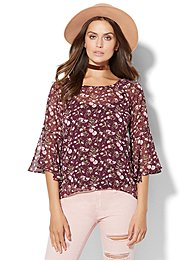 bell-sleeve-hi-lo-blouse-floral-