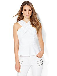 crossover-strapless-peplum-top-white-