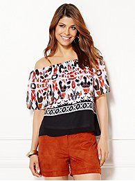 eva-mendes-collection-cleo-off-the-shoulder-blouse-