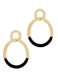eva-mendes-collection-enamel-hoop-drop-earring-