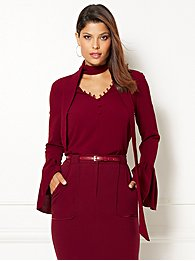 eva-mendes-collection-evie-bell-sleeve-top-