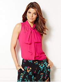 eva-mendes-collection-isabella-bow-blouse-