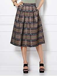 eva-mendes-collection-maddie-skirt-graphic-print