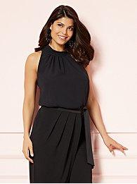 eva-mendes-collection-maddie-sleeveless-mock-neck-blouse-