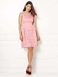 eva mendes collection - maria jacquard dress