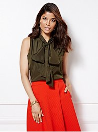 eva-mendes-collection-sleeveless-isabella-bow-blouse-
