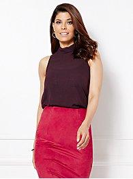 eva-mendes-collection-sleeveless-noa-mock-neck-blouse-
