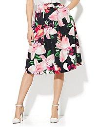 full-pleated-skirt-orchid-print-