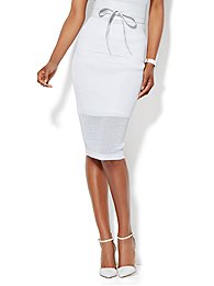 mesh-trim-knit-pencil-skirt-