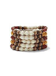 multicolored-beaded-stretch-bracelet-