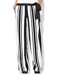 palazzo-pant-black-white-stripe-