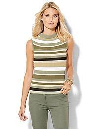 ribbed-sweater-mock-neck-shell-stripe-