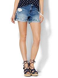 soho-jeans-bowery-4-short-star-print-