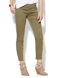 soho-jeans-destroyed-ankle-superstretch-legging-union-square-green-