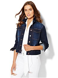 soho-jeans-destroyed-denim-jacket-dark-blue-wash-