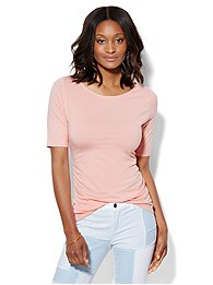 tee-luxe-shirred-bateau-neck-top-