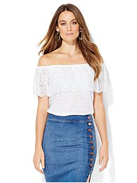 tiered-lace-off-the-shoulder-blouse-