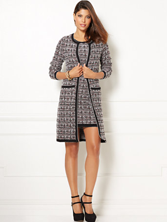 Ny Amp C Eva Mendes Collection Gabrielle Sweater Coat