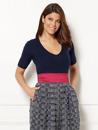 Ny Amp C Eva Mendes Collection Rahel Sweater