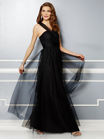 Black Prom Dresses   Magic Moments the Black Collection