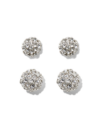 ny c fireball earring stud set
