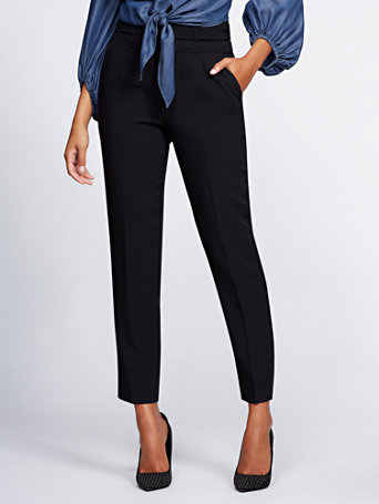 Gabrielle Union Collection   Black Corset Pant by New York & Company