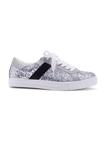 Glitter Finish Sneaker by New York & Company